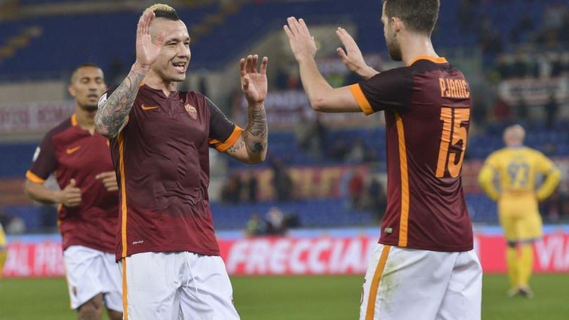 Serie A, Roma a 2,25 contro il Sassuolo