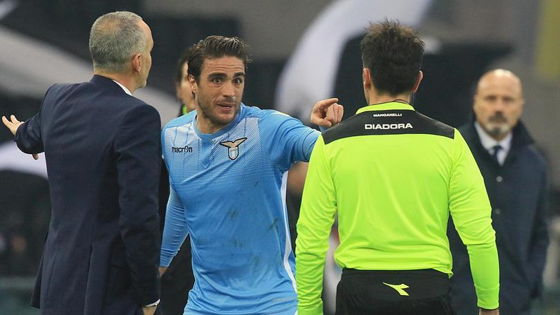 Lazio, Matri si scusa: «Ho sbagliato»
