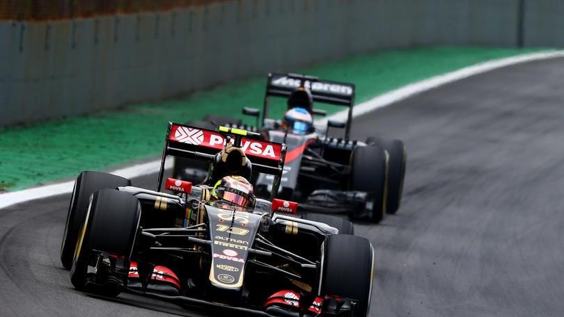 Lotus, Maldonado: «Non sarò in pista nel 2016»