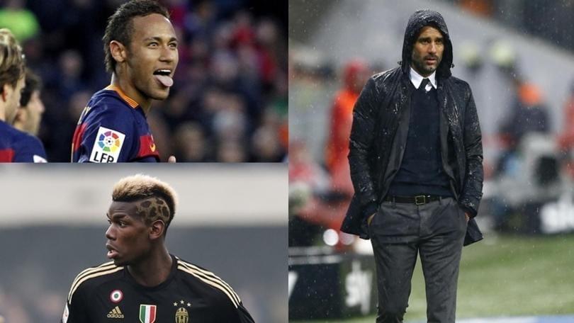 Calciomercato, in Inghilterra: «Il Manchester City vuole Neymar e Pogba, pronti 200 milioni»