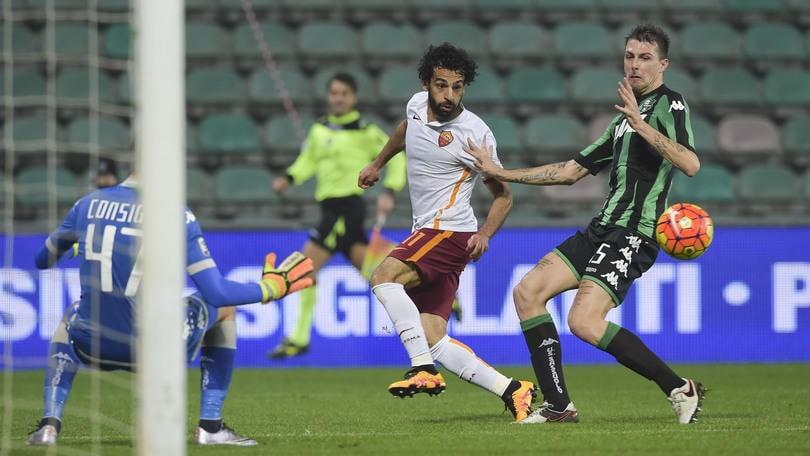 Diretta Sassuolo-Roma 0-2