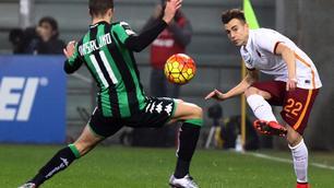 Sassuolo-Roma 0-2:brividi al Mapei ma El Shaarawychiude il match