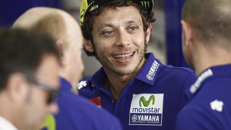 MotoGp, Rossi: «Rimonta difficile, ma ora darò il massimo»