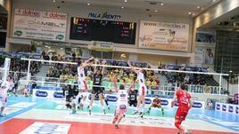 Volley, Trento perde in casa dopo 24 vittorie di fila