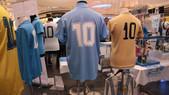 L'azzurro fa 90: a Pompei la mostra sul Napoli con i cimeli di Maradona