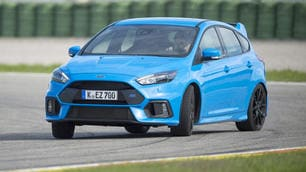 Ford Focus RS: spettacolo integrale