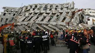 Terremoto a Taiwan, le immagini sono impressionanti