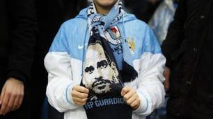 Manchester City, piccoli tifosi già pazzi di Guardiola