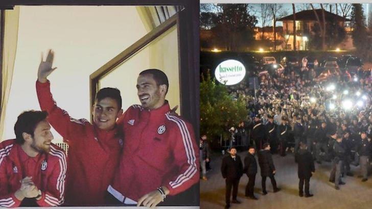 Frosinone pazza di Juve In mille sotto l'hotel