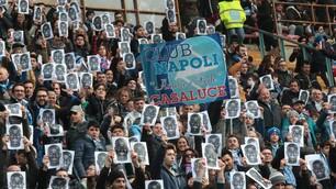 «Siamo tutti Koulibaly», i tifosi del Napoli contro il razzismo