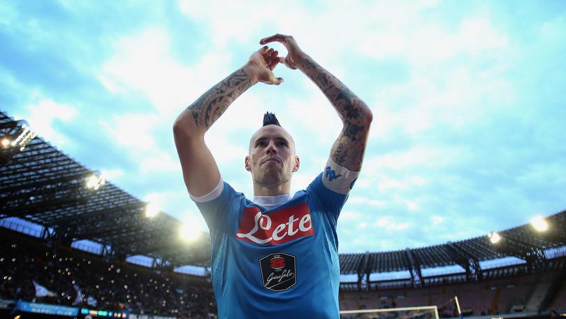 Juventus-Napoli, Hamsik: A Torino vorremmo i nostri tifosi