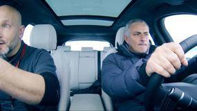 José Mourinho rallysta tra i ghiacci di Svezia