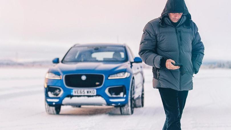 Mourinho, lo Special One rallysta per Jaguar