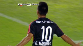 Argentina, River Plate show: 5 gol al Quilmes