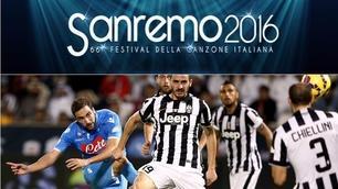 Tutti cantano Juventus-Napoli: allo Stadium come a Sanremo