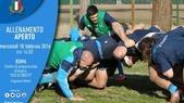 Rugby, porte aperte al raduno della Nazionale