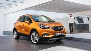 Opel Mokka X, le immagini in anteprima, Salone di Ginevra 2016