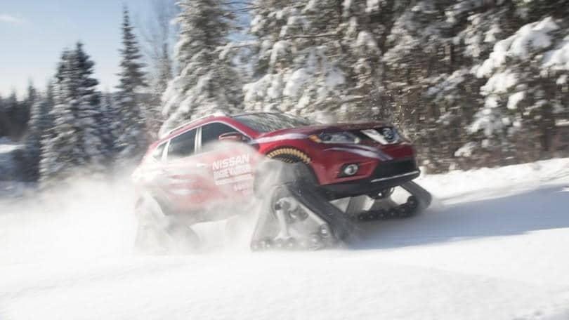 Nissan Rogue Warrior, l'inarrestabile X-Trail cingolato