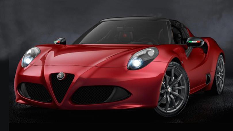 Alfa 4C Spider 50th Anniversary, omaggio al duetto