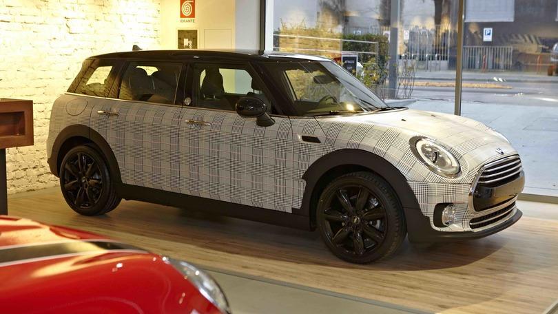 """Mini e Garage Italia: ecco la Clubman """"fashion"""" di Lapo"""