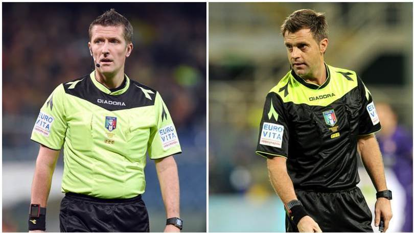 Juventus-Napoli, arbitra Orsato. Rizzoli infortunato
