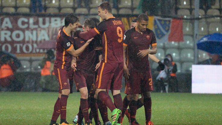 Serie A, Carpi-Roma 1-3: finalmente Dzeko, quarta vittoria di fila per i giallorossi