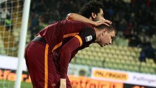 Roma, momento d'oro: Salah trascinatore