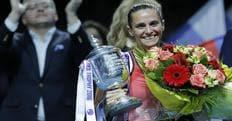 Tennis, la Vinci regina di San Pietroburgo: la Bencic ko in finale