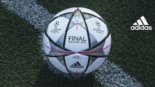 Champions League, ecco il pallone per la finale di San Siro