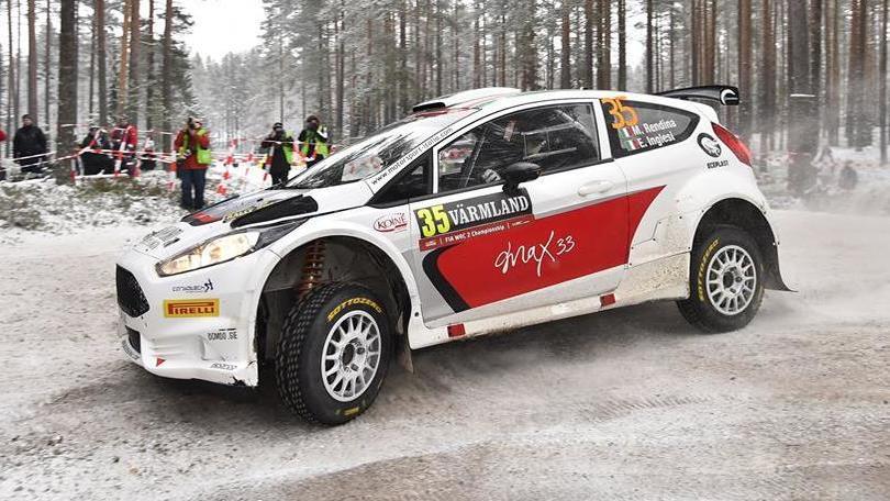 Rendina, che botto al Rally di Svezia!