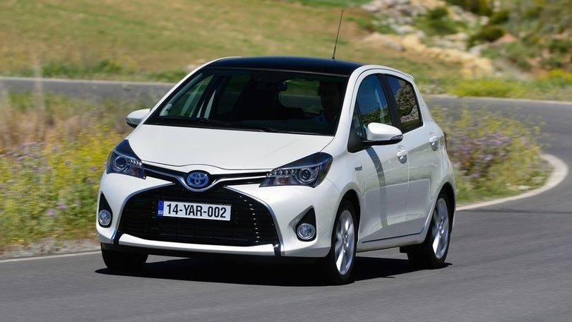 Toyota Yaris, la prova su strada