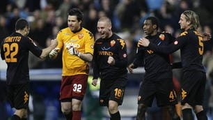 Champions 2008, Real-Roma 1-2: Taddei e Vucinic, che notte