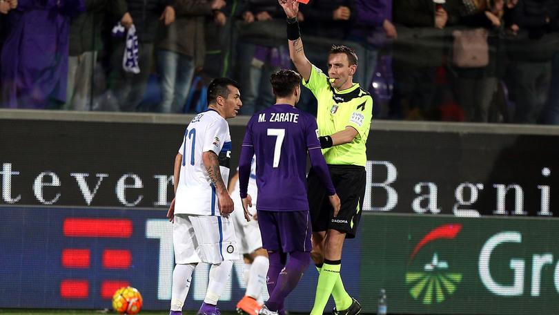 Serie A Fiorentina, Zarate sulla squalifica: «Non ci posso credere»