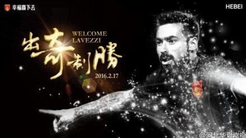 Lavezzi-Hebei, ufficiale: 6 mln al Psg, 15 all'anno al Pocho