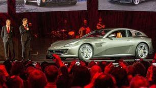 Ferrari GTC4 Lusso, le foto dell'anteprima mondiale