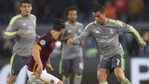Champions League, pagelle Roma: Salah sbaglia, Florenzi va, Pjanic stecca