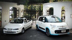 Fiat 500L: a Capri con... l'imperatore