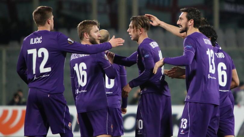Europa League, impresa Fiorentina a 5,15