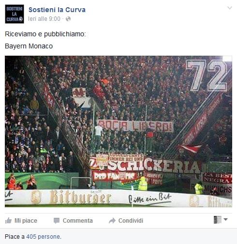 """Atalanta, """"Bocia libero"""": corteo di solidarietà dei tifosi"""