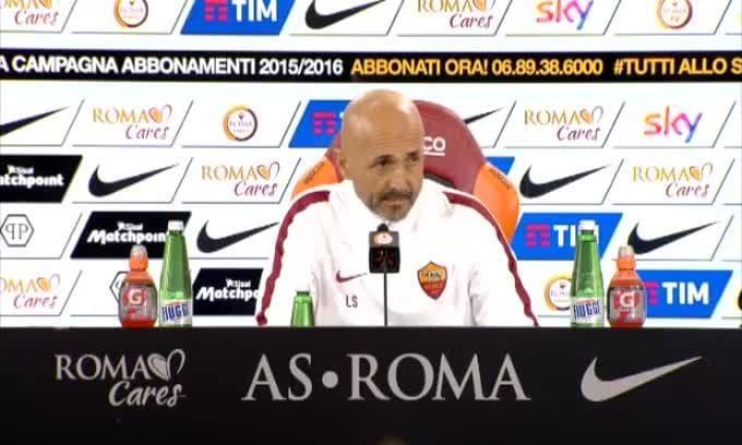 """Spalletti: """"Con De Rossi ho sbagliato"""""""