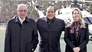 Milan, Berlusconi a Milanello per festeggiare 30 anni di presidenza