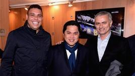 Serie A Inter, Mourinho e Ronaldo a San Siro insieme a Thohir