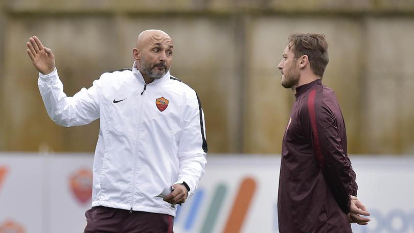 Roma, rottura Totti-Spalletti: il capitano allontanato dal ritiro