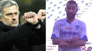 Sassuolo-Empoli, Tonelli come Mourinho: manette dopo l'espulsione!