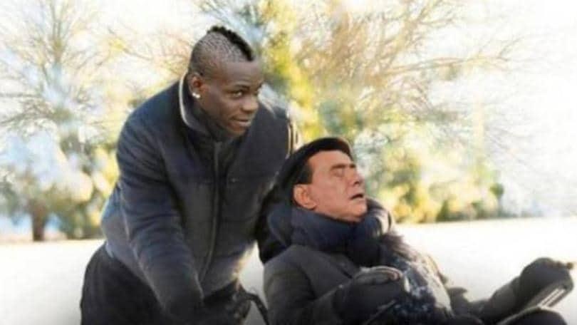 Milan, Berlusconi ma cosa dici? «Balotelli è italiano, ma ha preso troppo sole»