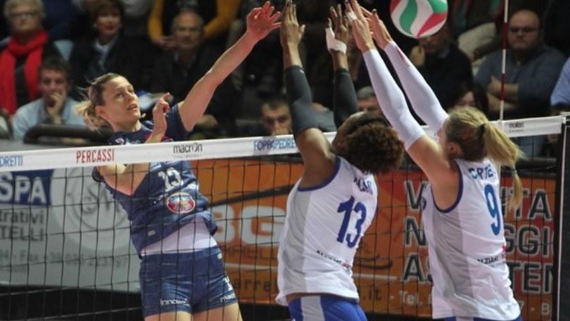 Volley: A1 Femminile, Conegliano vince a Piacenza e va in fuga