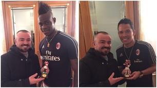 Da Bacca a Balotelli: il Milan nel presepe