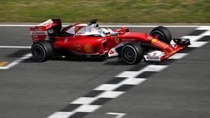 F1, Vettel chiude al comando la prima giornata di test
