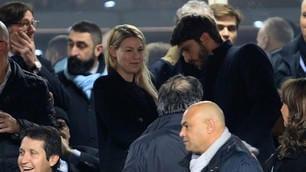 Napoli-Milan, c'è Barbara Berlusconi al San Paolo