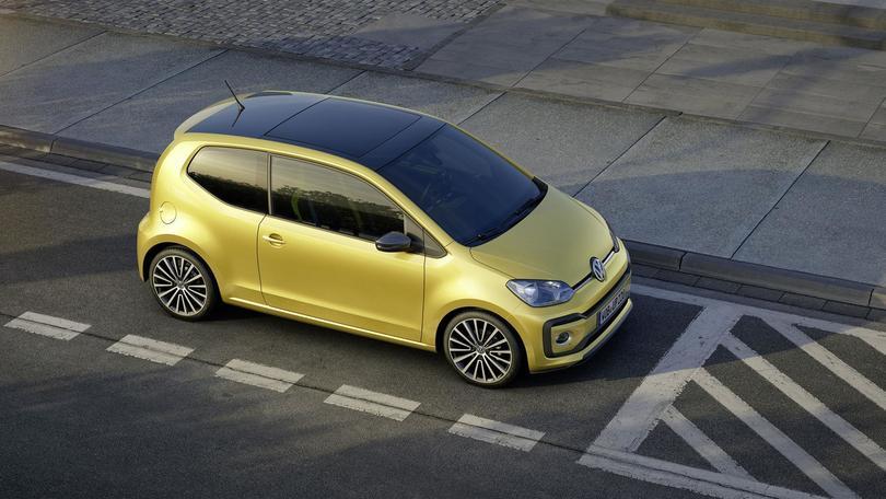 Più grinta e tecnologia per la Volkswagen up!